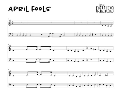 Aprl fools music sheet!!!